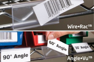 Solutions For Labeling Wire Shelving!