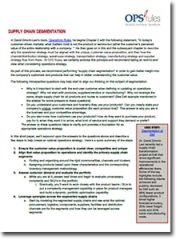 Pepsico Worldwide Flavours Inventory Optimization Case Study
