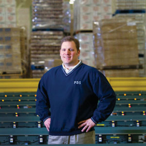 <p>Scott Zurawski, director of warehouse operations and logistics</p>
